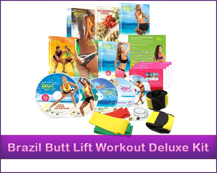 Brazil Butt Lift Workout Deluxe Dvd Kit