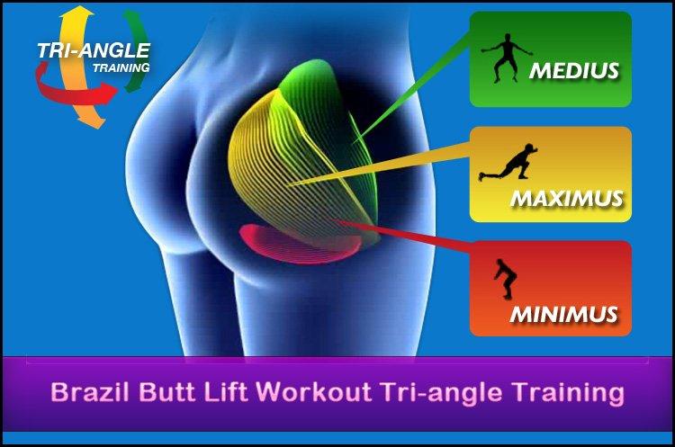 Brazil Butt Lift Workout Tri-angle training