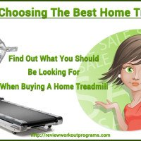 Choosing Your Best Home Treadmills – What You Should Be Looking For