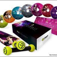zumba fitness exhilarate body shaping system dvd set