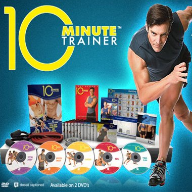 10 Minute Trainer Review - complete 10 minute trainer workout program set