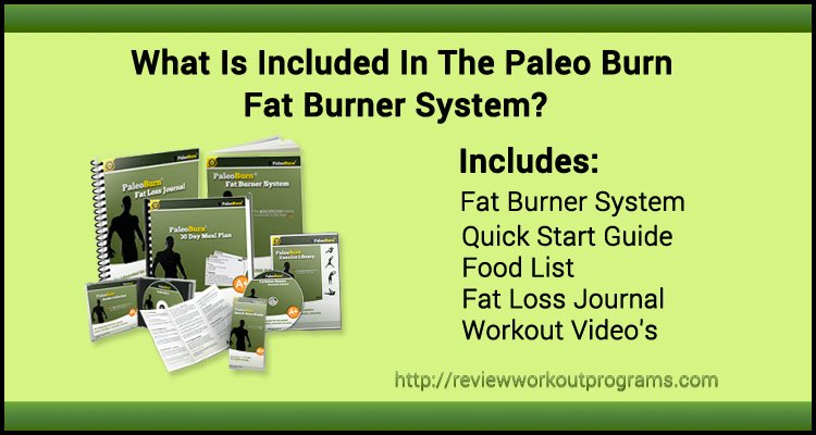 Paleo Burn Reviews what's included