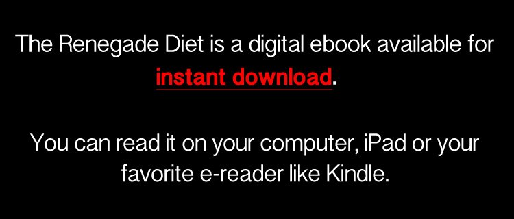 The Renegade Diet Review Instant Download