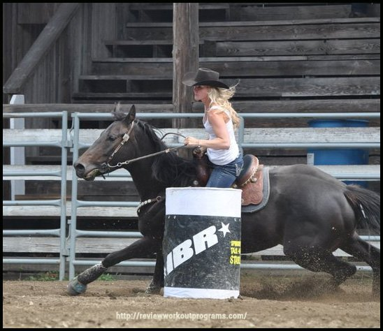 Barrel Racing as a form of exercise