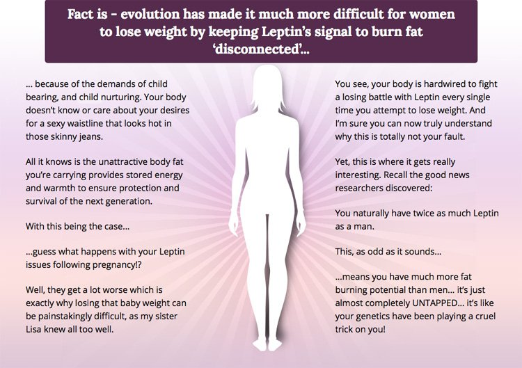 facts about leptin and women