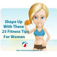 25 fitness tips for women